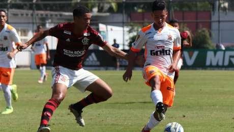 Flamengo venceu por 2 a 0, em casa (Foto: Bernardo Gleizer/Nova Iguaçu FC)