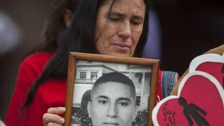 No México, há mais de 40 mil pessoas desaparecidas