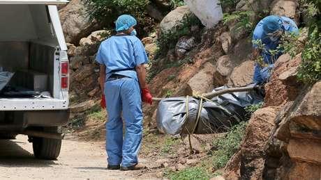 Já foram encontradas no México mais de mil covas clandestinas