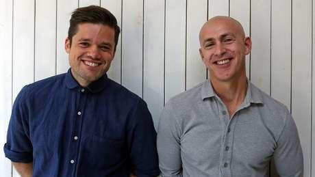 Richard Pierson (à esquerda) e Andy Puddicombe abriram o negócio em 2012