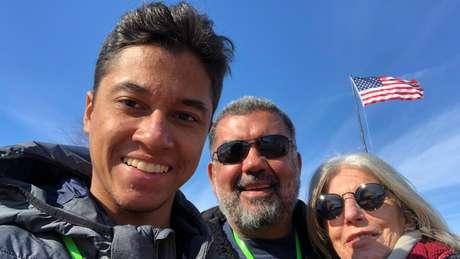 O executivo Murilo Queiroz se mudou para os Estados Unidos junto com a mulher e o filho, de 19 anos