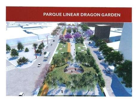 Projeto prevê a criação de um parque sobre o Rio Tamanduateí