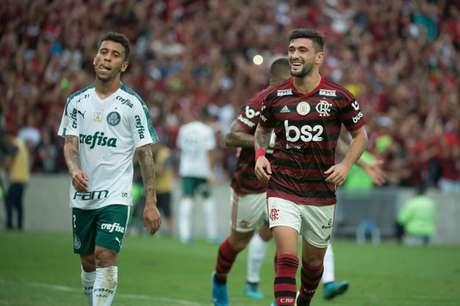 Arrascaeta foi decisivo mais uma vez (Foto: Alexandre Vidal / Flamengo)