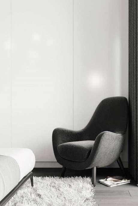 1. Escolha a poltrona para quarto que mais se harmonize ao seu estilo de decoração – Foto: Pinterest