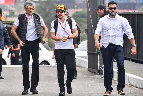 Fernando Alonso estará com a McLaren no GP da Itália