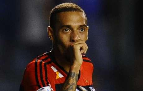 Paulinho na época de Flamengo (foto:AFP)