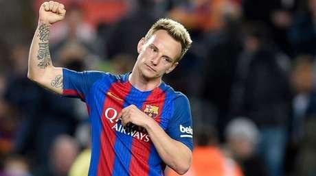 Rakitic poderia ter deixado o Barcelona (Foto: AFP)