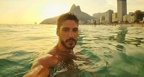 Ângelo Rodrigues em viagem recente ao Rio: paixão pelas belezas brasileiras