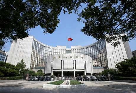 Banco do Povo da China, em Pequim 28/09/2018 REUTERS/Jason Lee