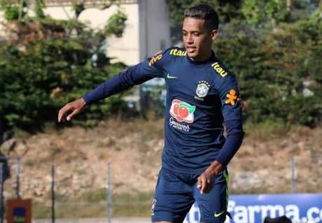 Atacante Pedrinho é um dos destaques do Corinthians e da Seleção olímpica (Foto:Fernando Torres/CBF)