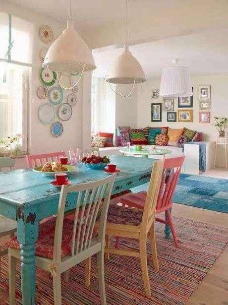 22. Almofada para cadeiras de cozinha – Por: Donna da Casa