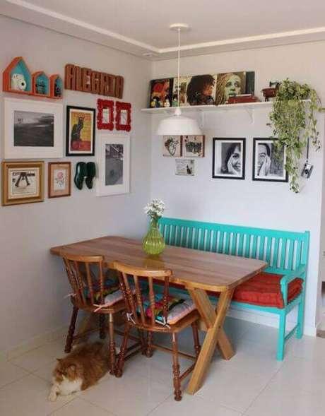 28. A almofada para cadeira pode ser uma forma de renovar a decoração – Por: Pinterest