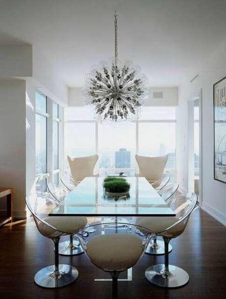 29. Almofadas para cadeira de sala de jantar – Por: Pinterest