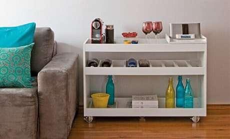 8. Escolha um aparador para café que tenha a ver com o seu estilos de decoração – Foto: Minha Casa
