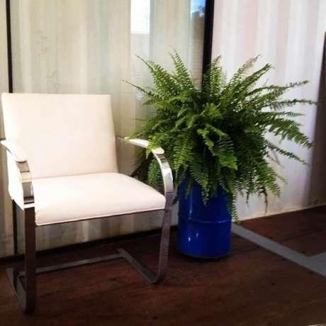 25. Decoração com vasos de plantas para sala