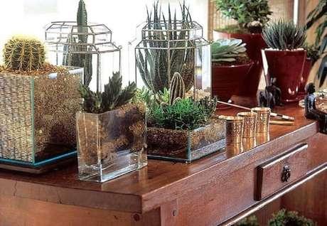 6. Lindo vasos decorativos para plantas.