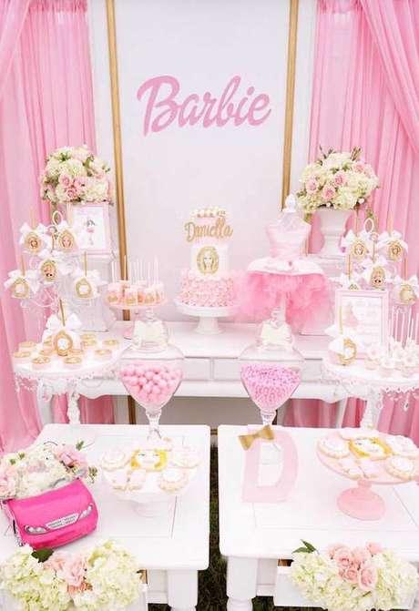58. Festa da barbie cor de rosa – Por: Asset Project