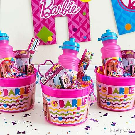 10. Lembrancinhas para festa da barbie – Por: Party City
