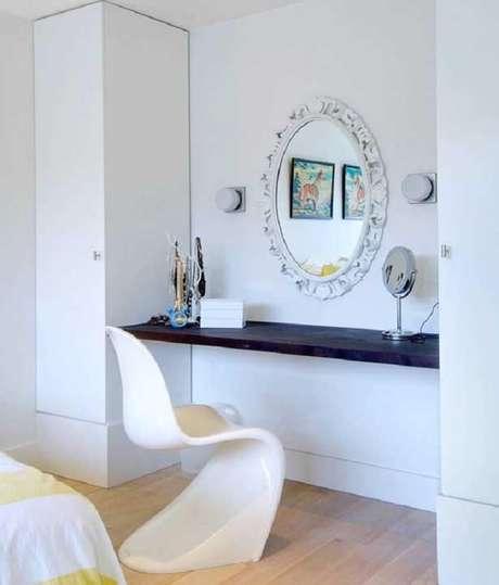 7. Moldura de gesso para espelho. Fonte: Pinterest