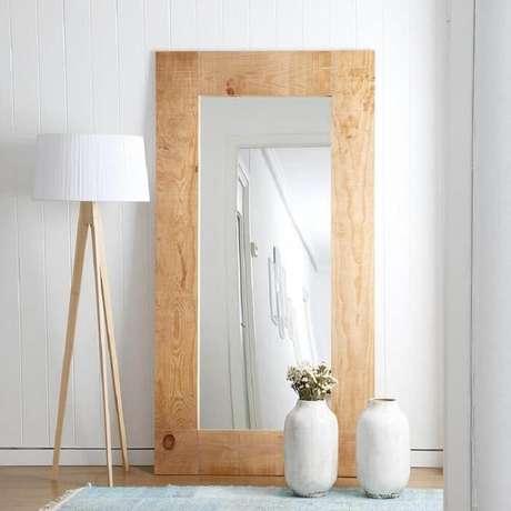 30. Moldura para espelho em MDF grande. Fonte: Pinterest