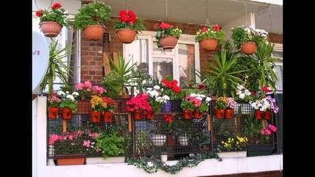 4. Os vasos de plantas feitos de cerâmica são os mais comuns e mantém a terra úmida por mais tempo.