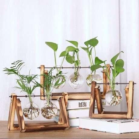 54. Vasos de plantas com design ousado. Fonte: Pinterest