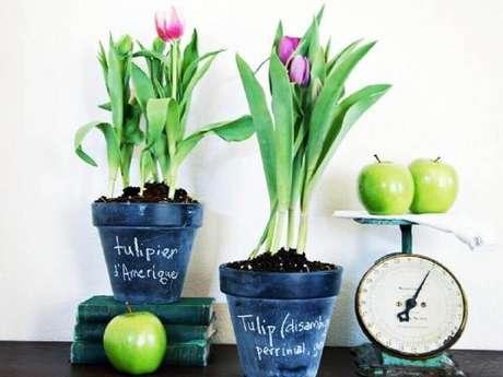 18. Vasos decorativos para plantas