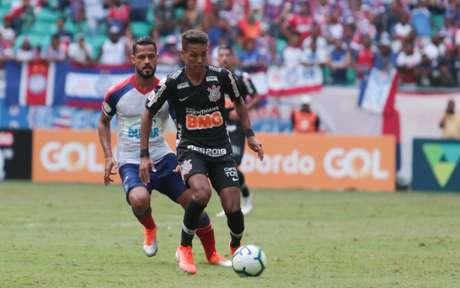 No primeiro turno, o Timão perdeu para o Bahia por 3 a 2(Foto: Tiago Caldas/Fotoarena)