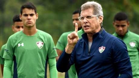 Oswaldo ainda não venceu nesta terceira passagem pelo Tricolor (Foto: Mailson Santana/Fluminense)