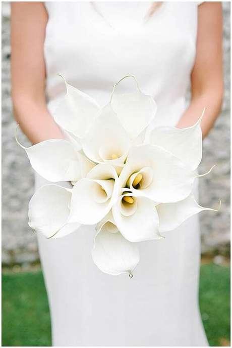 19. O copo de leite é uma flor elegante e sofisticada – Por: Pinterest