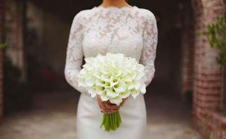36. Flores para buquê de noiva devem lindas – Por: Pinterest
