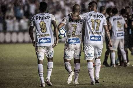 No último duelo, com gol polêmico nos acréscimos, o Santos venceu por 1 a 0. (Foto: Ivan Storti/Santos FC)
