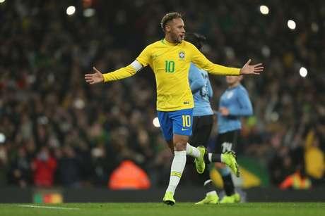 Neymar está de volta para a Seleção Brasileira (Foto: Lucas Figueiredo/CBF)