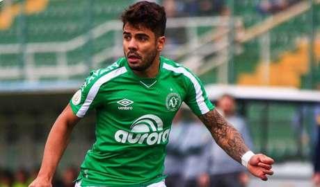 Henrique Almeida é jogador da Chapecoense (Foto: Reprodução/Twitter)