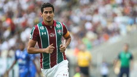 Fluminense de Ganso tenta a recuperação no Brasileiro (Foto: LUCAS MERÇON/ FLUMINENSE F.C.)
