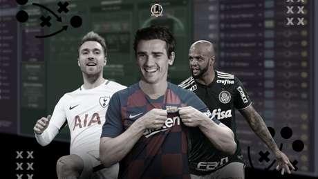O Football Manager é a distração de vários jogadores em hotéis e concentrações (Foto: Lance!/SEGA)