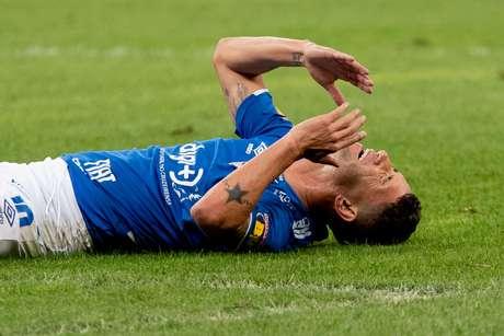 Thiago Neves, do Cruzeiro, na partida contra o Vasco, válida pela 17ª rodada do Campeonato Brasileiro 2019, no Estadio Mineirão