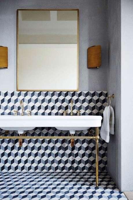 2. É importante saber que não existem cores específicas para a decoração de banheiros femininos – Foto House & Garden