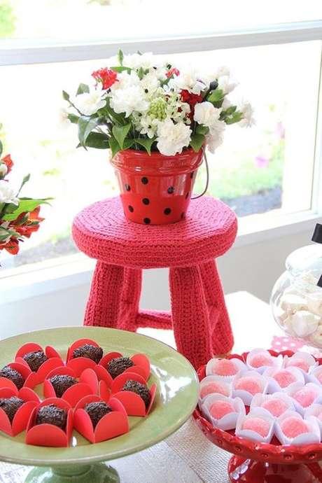 21. A decoração de festa da ladybug é cheia de detalhes lindos! – Por? Pinterest