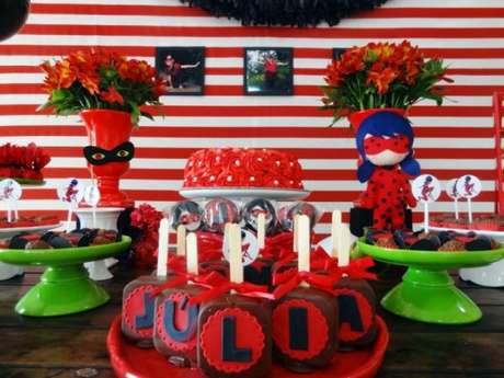 28. Decoração festa ladybug ideas- Por: Pinterest
