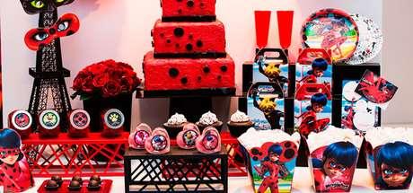33. Detalhes de festa ladybug – Por: Fazendo nossa festa