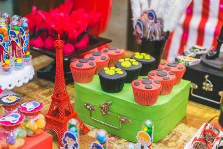 36. Doces para festa ladybug – Por: Danny Alves Fotografia Infantil