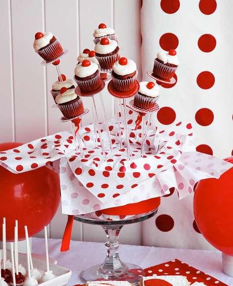 35. Doces para festa festa ladybug – Por: Pinterest