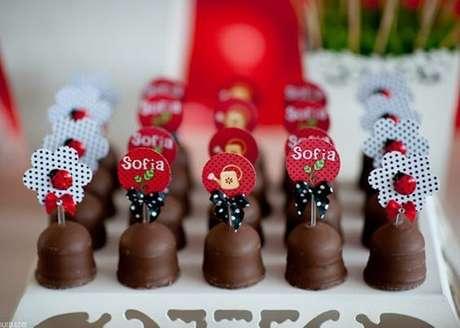 38. Docinhos personalizados para festa ladybug – Por: Roteiro Baby
