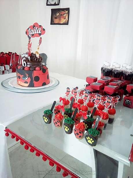 60. Festa ladybug simples e barata – Por: Fazendo a Nossa Festa