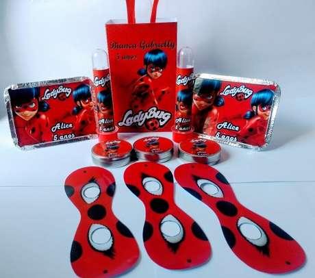 68. Kit festa ladybug – Por: Pinterest