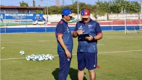 Zé Ricardo é o técnico do Fortaleza