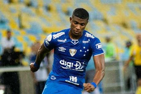 Orejuela está emprestado até dezembro e com o valor de 50% dos seus direitos estipulados em 1,5 milhão de euros-(Bruno Haddad/Cruzeiro)