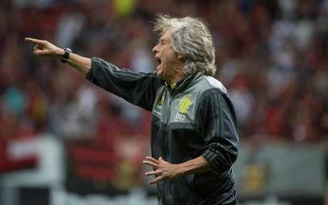 Equipe de Jorge Jesus pode chegar a cinco vitórias consecutivas neste sábado (Foto: Alexandre Vidal / Flamengo)