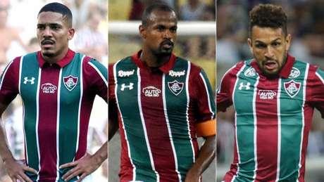 Jogadores ganham nova chance com a chegada de Oswaldo (FOTO: LUCAS MERÇON/ FLUMINENSE F.C.)